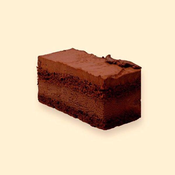 Afbeelding van glutenvrij en lactosevrij chocolade gebakje