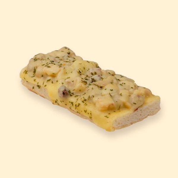 Afbeelding van grandioos lekker (spek champignon ui kaas)