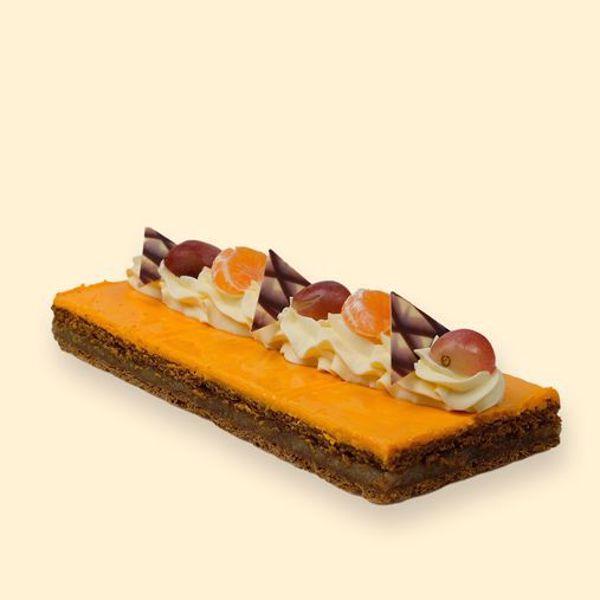 Afbeelding van oranjekoek, met crème ( 5 à 6 pers)